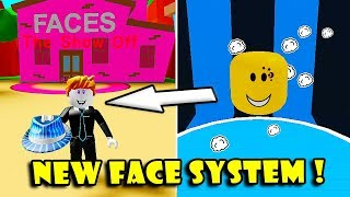 I GOT THE BEST *NEW* FACES UPDATE In HAT SIMULATOR!! [Roblox]