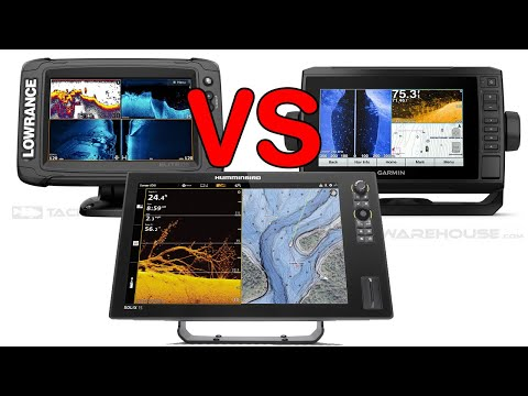 Humminbird Vs Lowrance Vs Garmin : Sonar Marine Electronics
