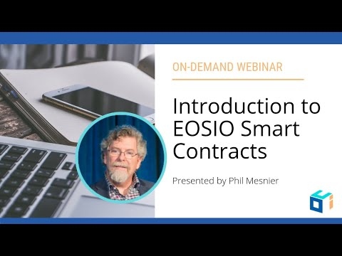 Introduction to EOSIO Smart Contracts