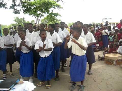Mkomo School health club, Mtwara, Tanzania