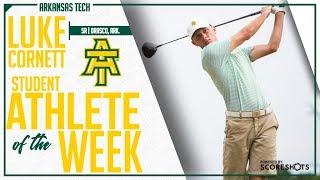 Arkansas Tech Student Athlete of the Week - Luke Cornett