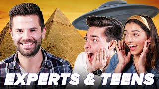 Egyptologist Explain The Great Pyramids To Teens