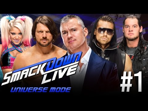 WWE 2K17 Universe Mode - Smackdown Live Episode 1: GENERAL MANAGER ANNOUNCED!