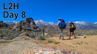 L2H - Day 8, Alabama Hills Alternate,  Lone Pine to Whitney Portal.