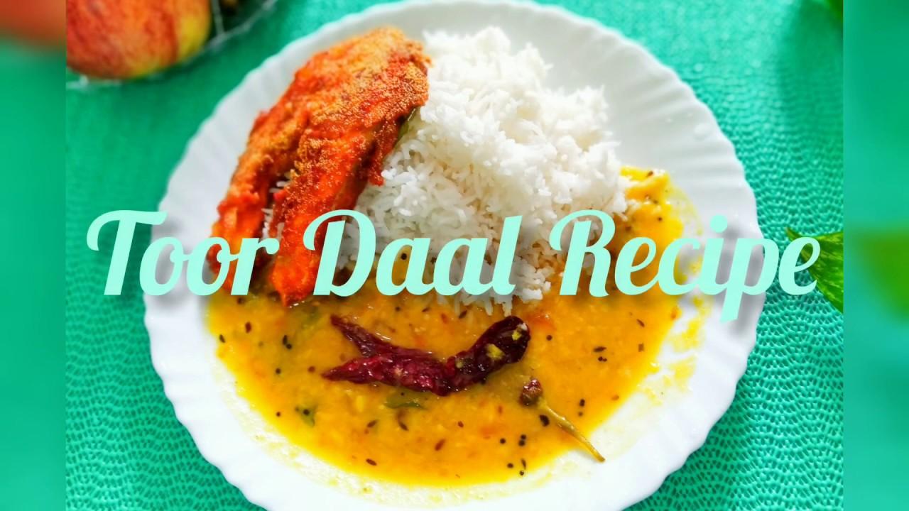 Toovar Daal Recipe/North Indian Style Toor Dal/Maa ki hath ki daal/Pigeon Peas Lentils /Toovar Daal.