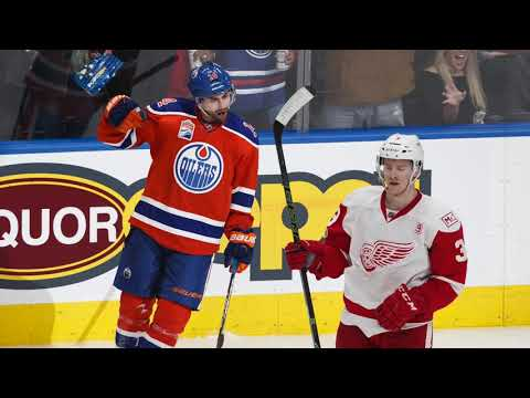 Edmonton Oilers out grit the Detroit Red Wings