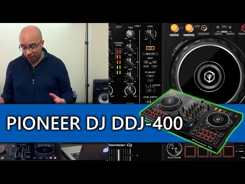 Pioneer DJ DDJ-400 Rekordbox DJ controller review and video