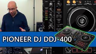 Pioneer DJ DDJ-400 Rekordbox DJ controller review and video