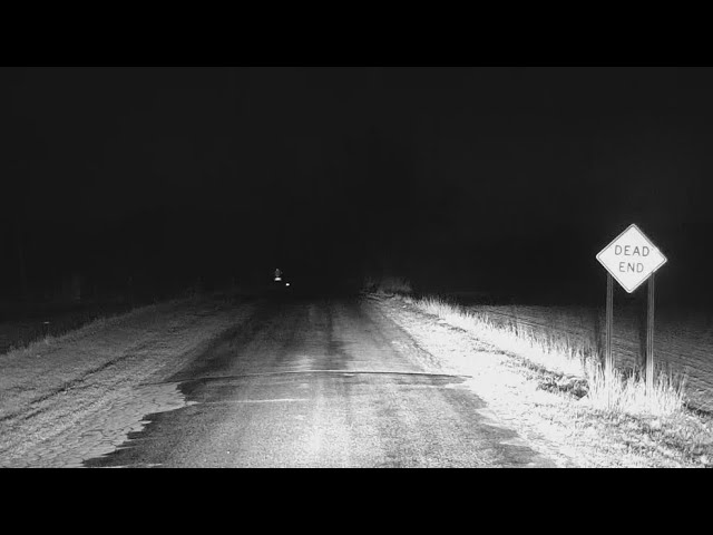 GHOST CAUGHT ON TAPE ON HAUNTED ROAD