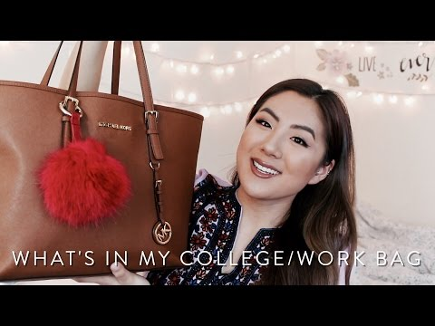 UPDATED What's In My College/Work Bag! Why I Don't Use My Longchamp Tote Anymore? - INMYSEAMS - 동영상