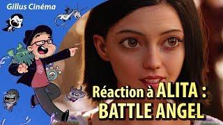 GUNNM / ALITA : BATTLE ANGEL - réaction au trailer