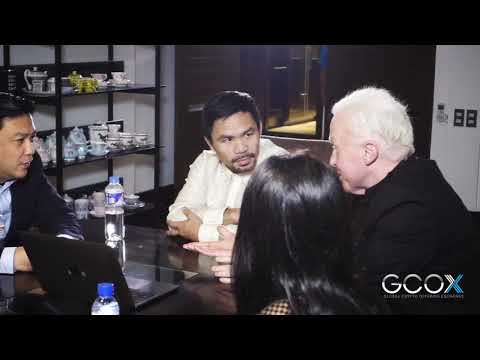 GCOX - Manny Pacquiao Signing Ceremony
