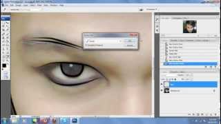 Tutorial Line art dengan photoshop CS3