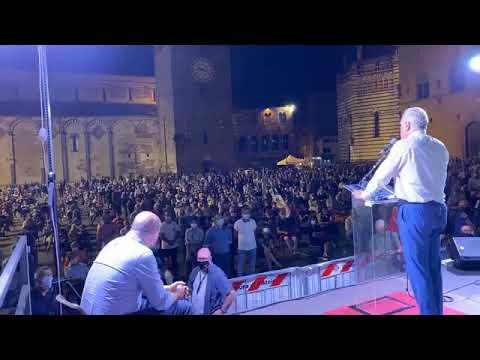 Toscana - Giani (PD) da Pistoia con Nicola Zingaretti! (17.09.20)
