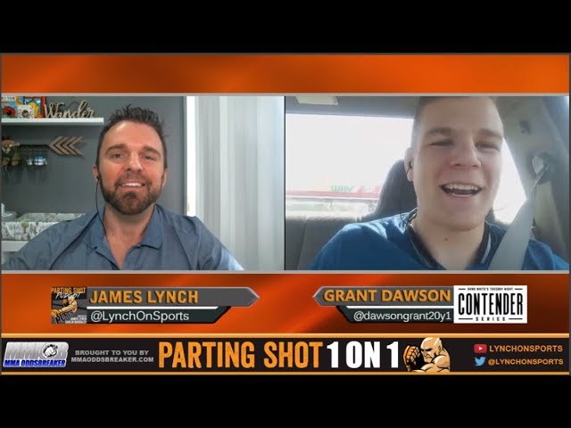 DWTNCS 6 winner Grant Dawson says he want to fight Dennis Siver in his UFC debut