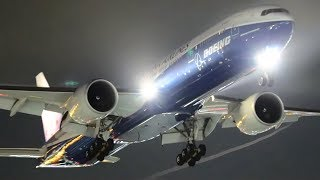THRILLING Late NIGHT Flights at LAX | Los Angeles Airport Plane Spotting