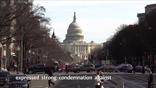 China expresses strong condemnation against U.S. Senate's passing of Hong Kong-related legislation