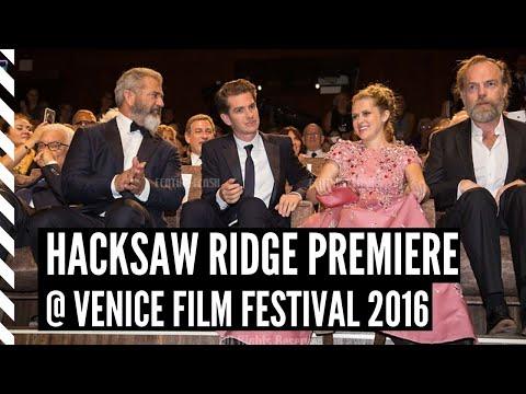 HACKSAW RIDGE - PREMIERE Venice Film Festival 2016