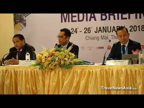Cambodia Tourism Press Conference at ATF 2018 - HD