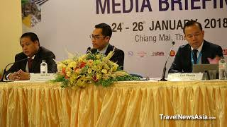 Cambodia Tourism Press Conference at ATF 2018 - HD