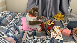 Monkey Baby Nui Nui new super cute clothes