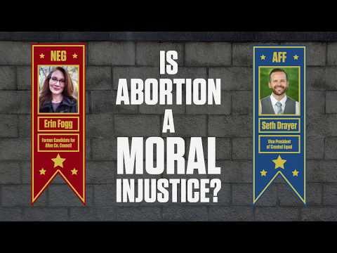 Seth Drayer v. Erin Fogg Debate Teaser