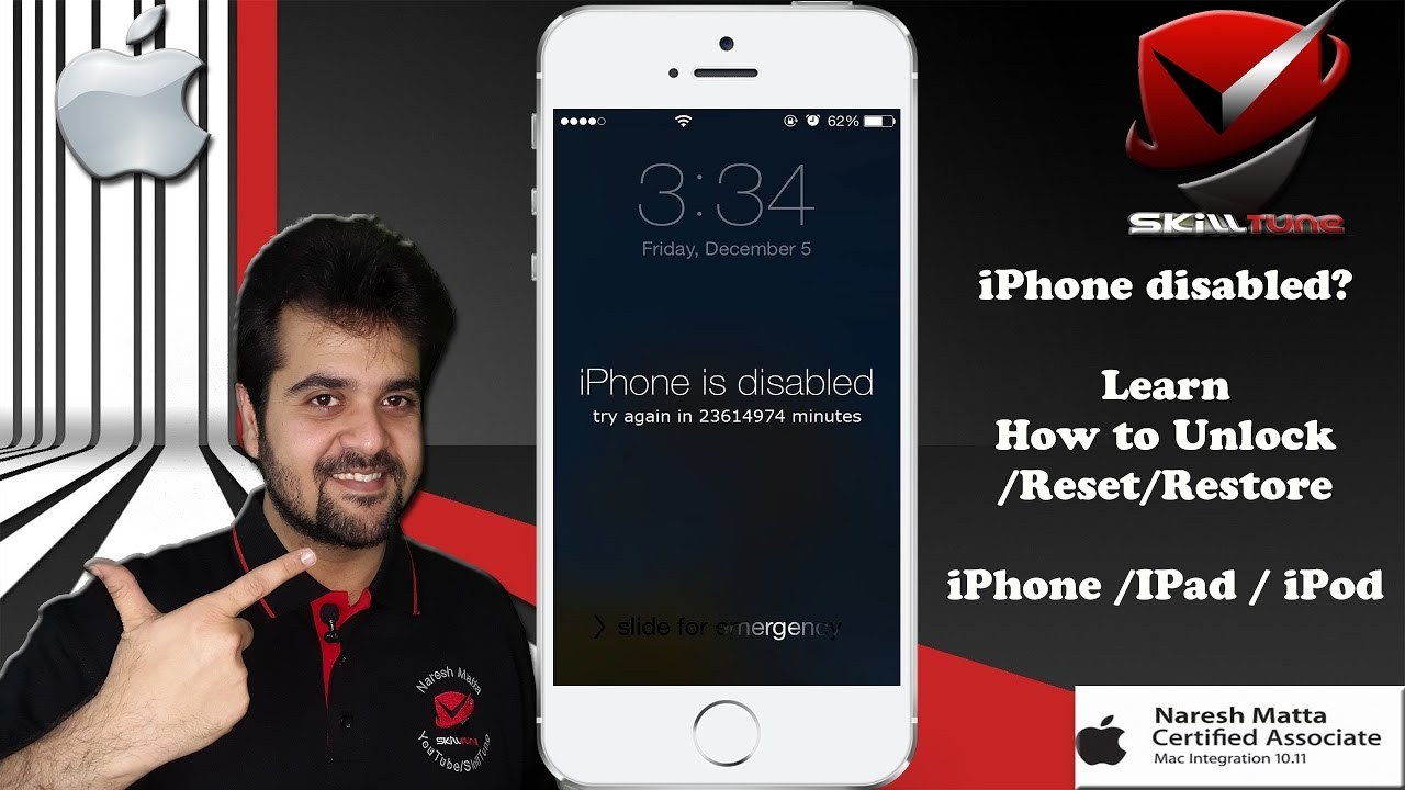 How to Restore/Unlock Disabled iPhone without iTunes - EaseUS