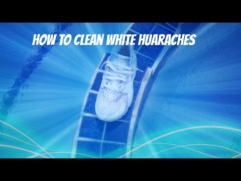 How to Clean White Huaraches