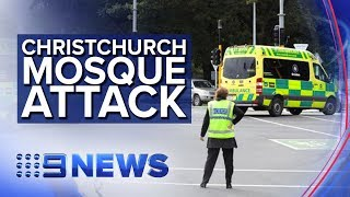 Armed attack on mosque in New Zealand | Nine News Australia