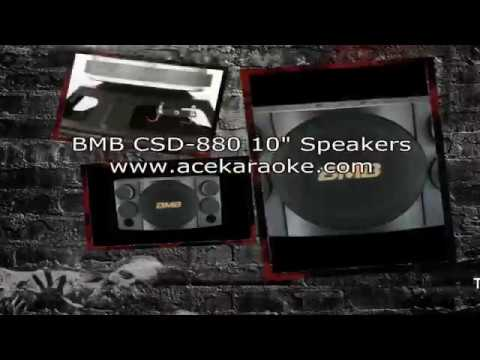 The Best High Power Karaoke Speakers BMB CSD 880
