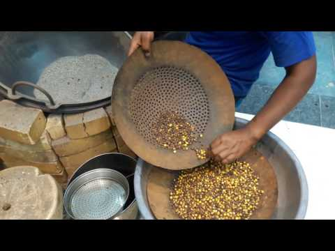 Roasted Chana Making