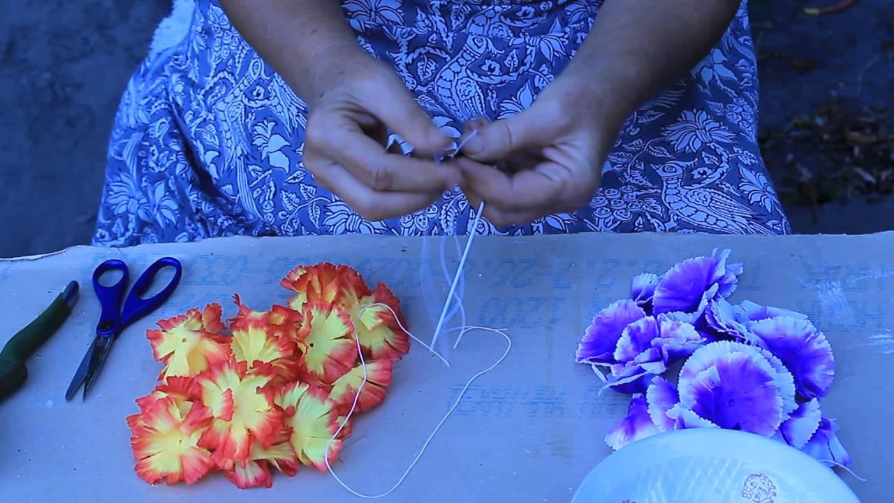 Как сделать лею для гавайской вечеринки