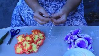 видео Гавайские бусы своими руками