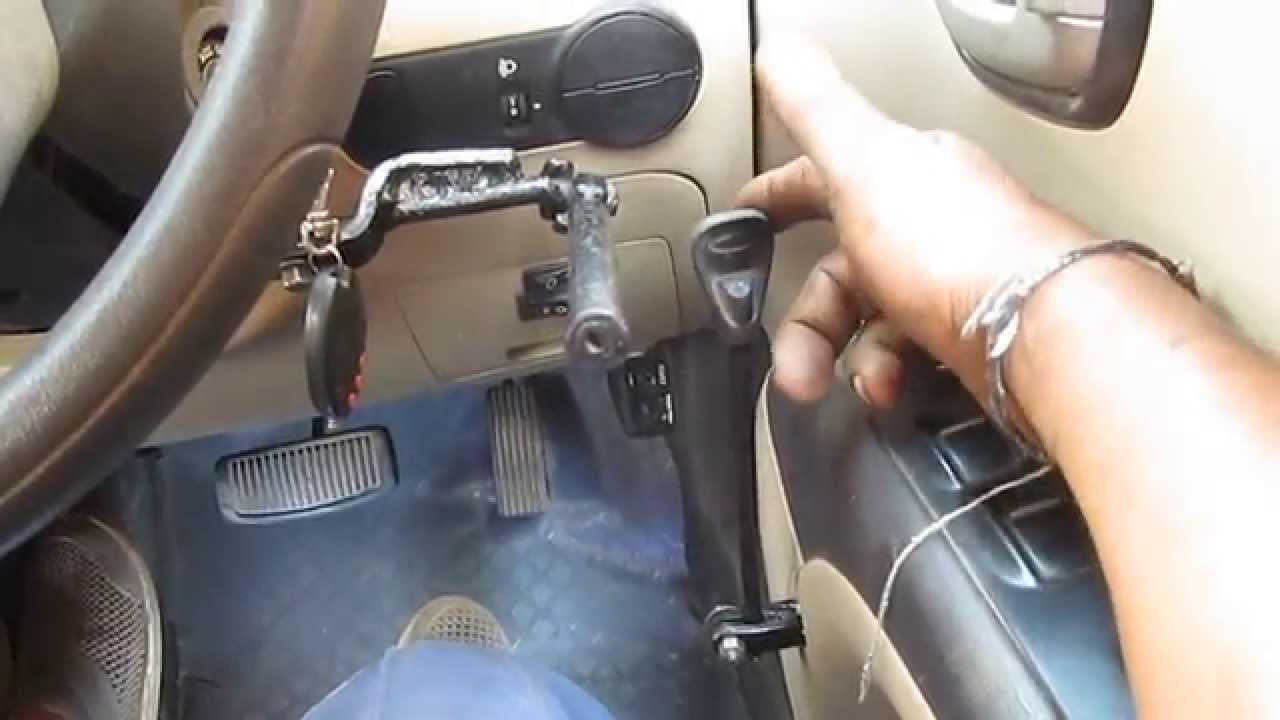 Car For Disabled Differently Abled Driving With Hand Controls