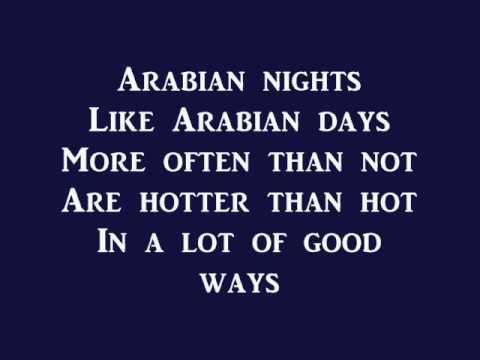 Arabian Nights- Aladdin (lyrics)