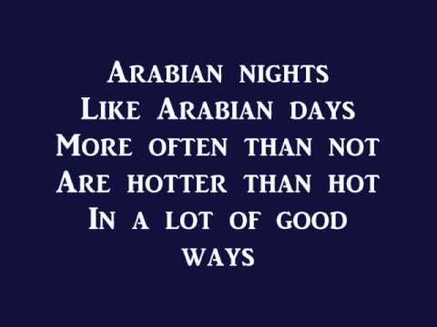 Arabian Nights Aladdin lyrics