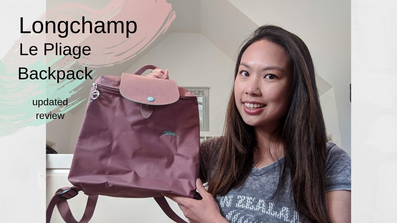 Longchamp Le Pliage Backpack | updated review