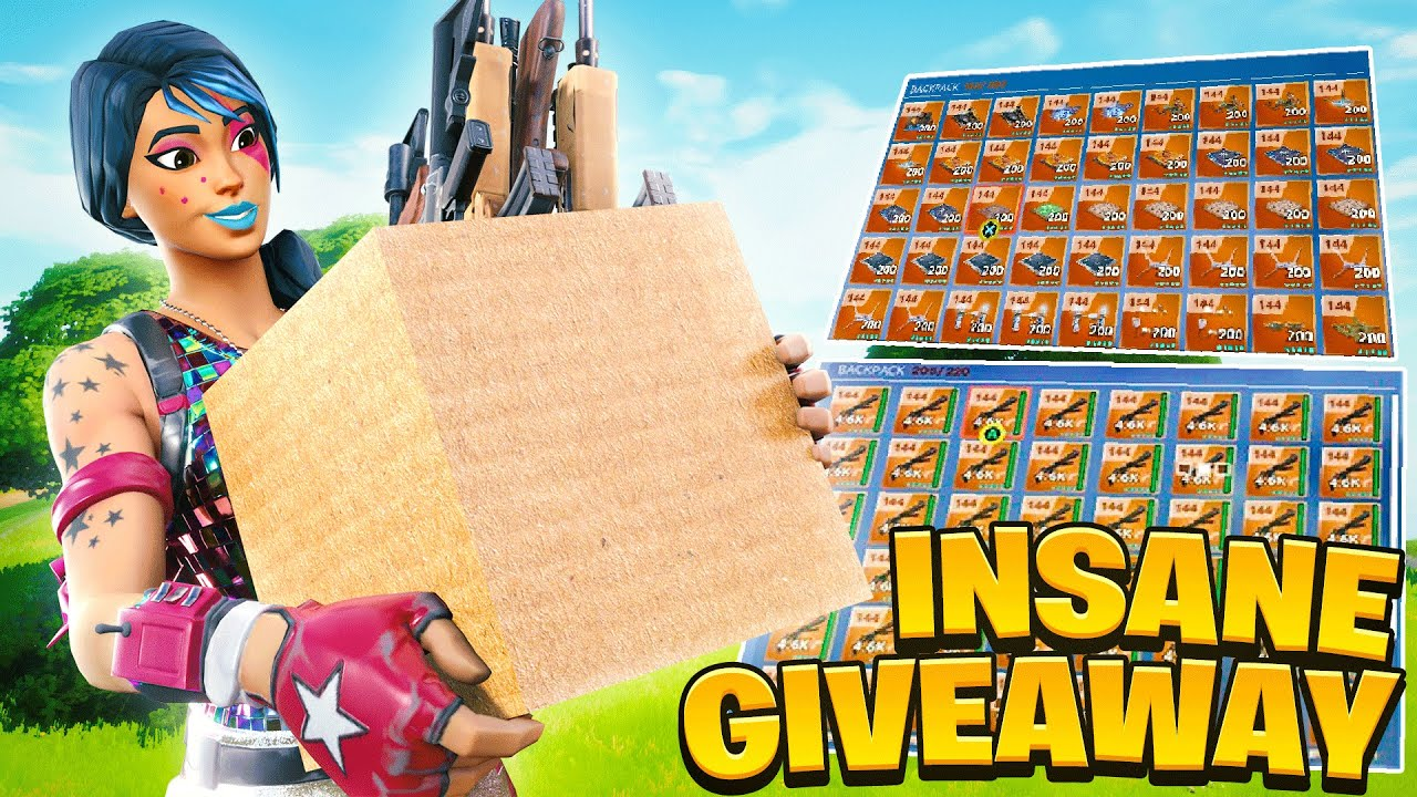 🔴 144 Save The World DROPBOX Giveaway Live Now *FREE LOOT* #FORTNITE #STWGIVEAWAY #DROPBOX 🔴