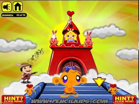 День Валентина Счастливой Обезьянки прохождение Monkey GO Happy Valentines Walkthrough