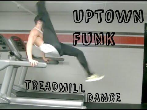Uptown Funk  Treadmill Dance - Carson Dean