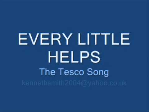 every little helps the song for tesco produced by ken