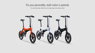 ONEBOT S6 Folding Electric Assist Bike + Best offer buy