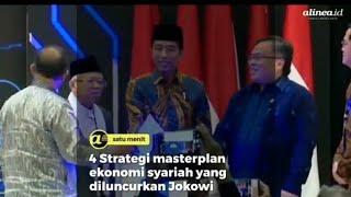 4 Strategi masterplan ekonomi syariah yang diluncurkan Jokowi