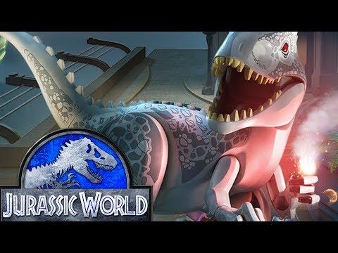 Лего мультик игра про динозавров Парк Юрского Периода 7 серия. Видео для детей