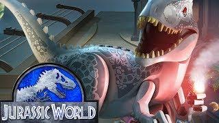 LEGO Jurassic World Прохождение - Серия 7 - ЛЕЧЕНИЕ ТРИЦЕРАТОПСА Игра мультик для детей