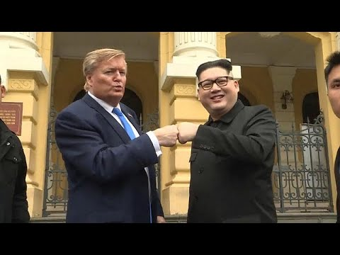 شاهد: قمة -مزيفة- تجمع ترامب وكيم في فيتنام