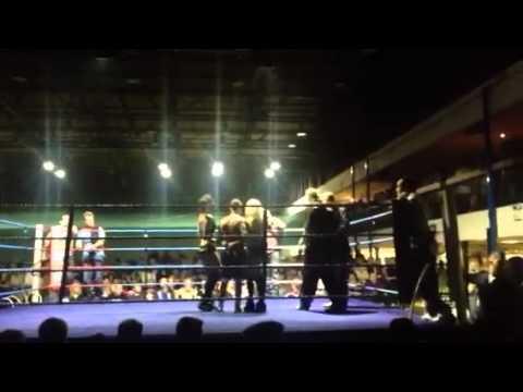 Danny Webb title fight
