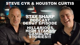 Houston Curtis interviews Las Vegas Superhost,  Steve Cyr on the Stay Sharp Podcast Debut!
