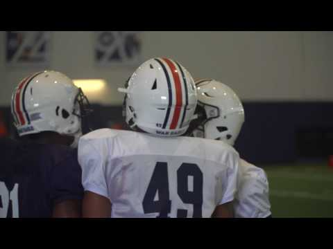 Auburn football highlights of practice 8517