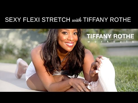 Tiffany Rothes Valentine\'s Day Sexy Flexi Stretch Routine! | TiffanyRotheWorkouts